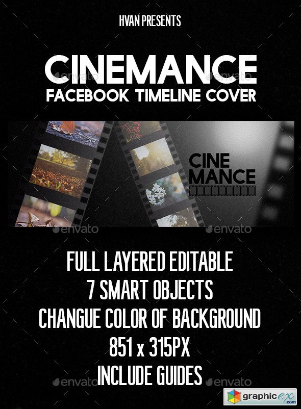 Cinemance (Facebook Timeline Cover)