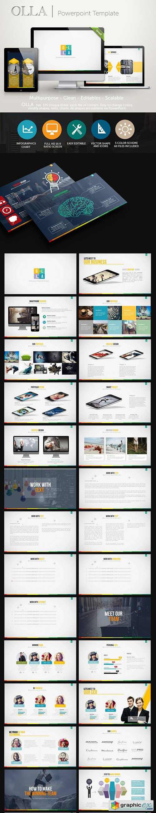 Olla PowerPoint Presentation Template