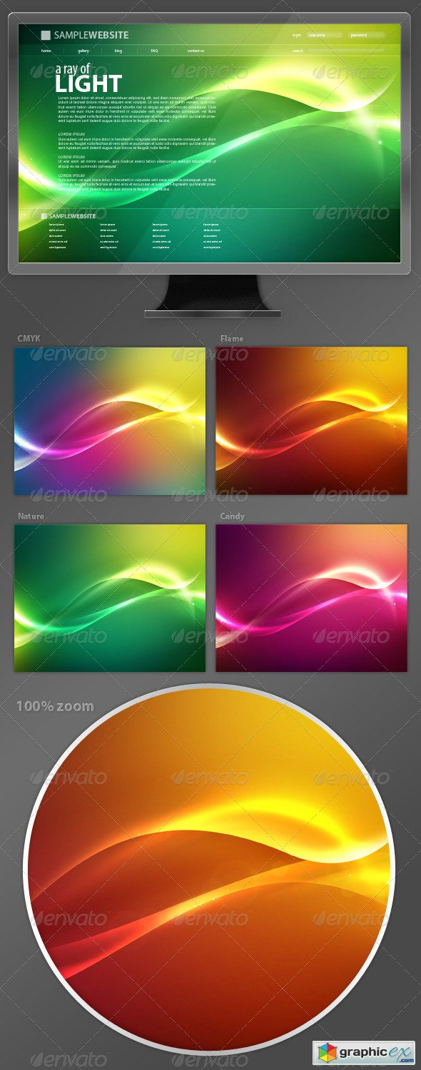 Abstract Background 3A