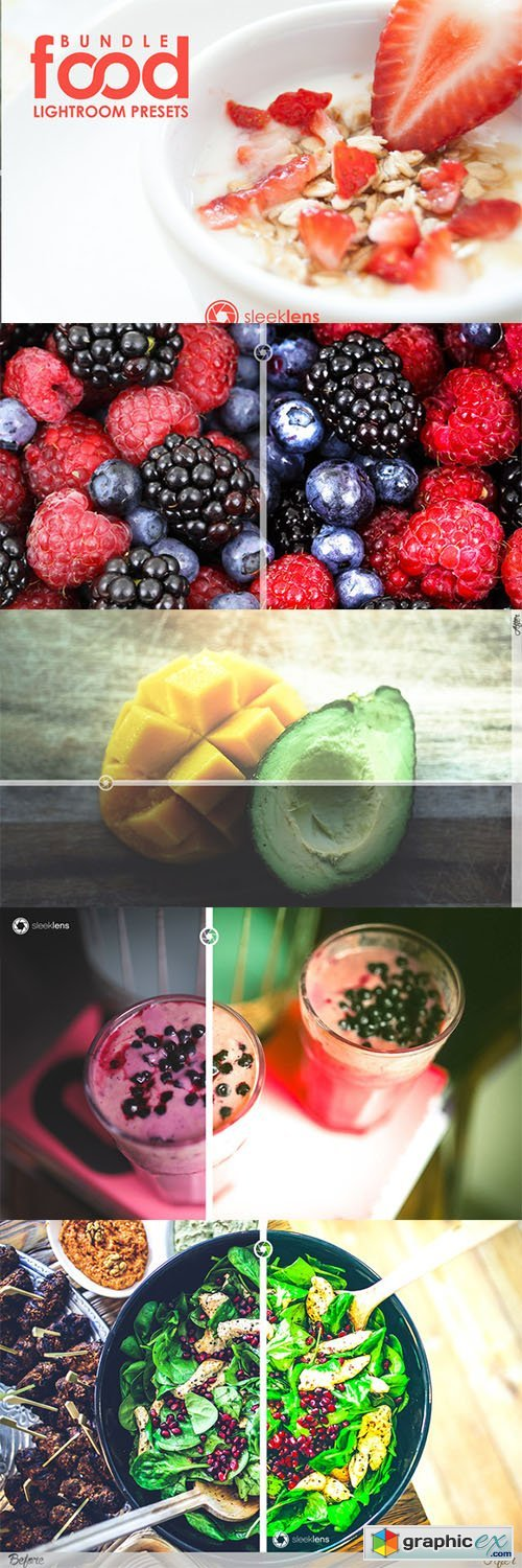 Food Flux Lightroom Presets