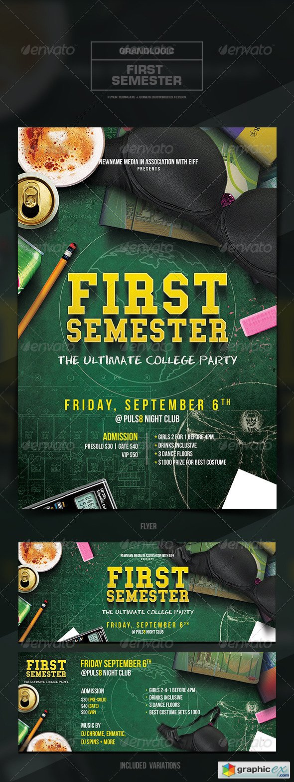 College Party Flyer/Poster
