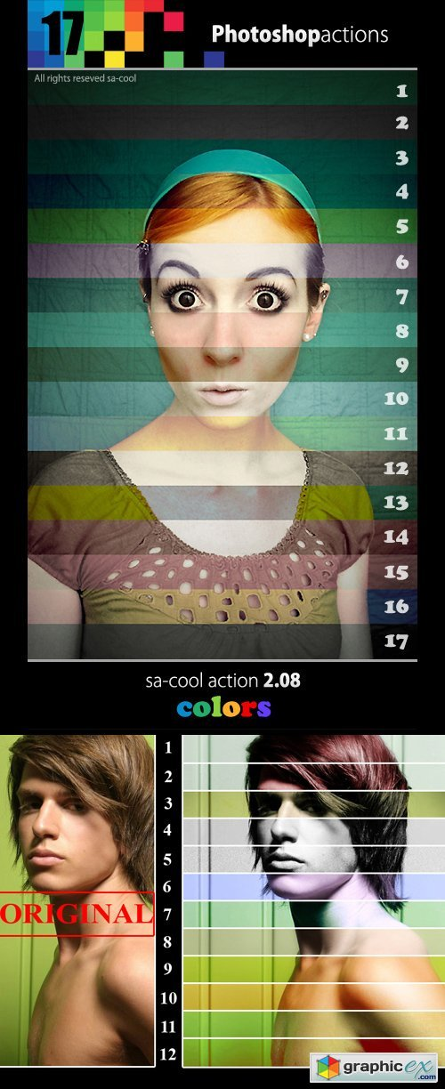 Color Photoshop Actions V2.08