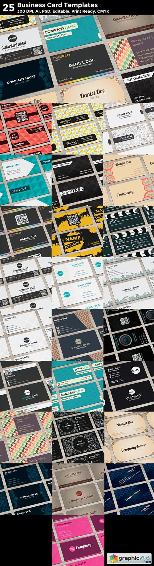 25 Business Card Templates