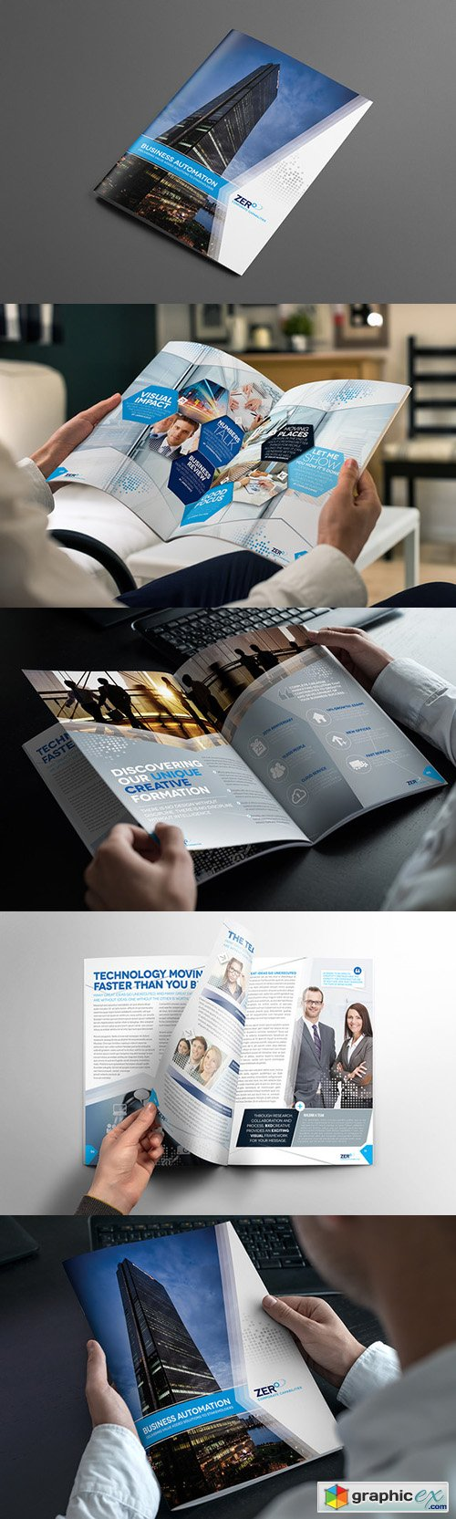 Brochure Template InDesign 01