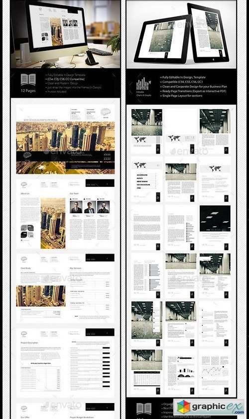 5x Digital Publishing Templates Bundle v2