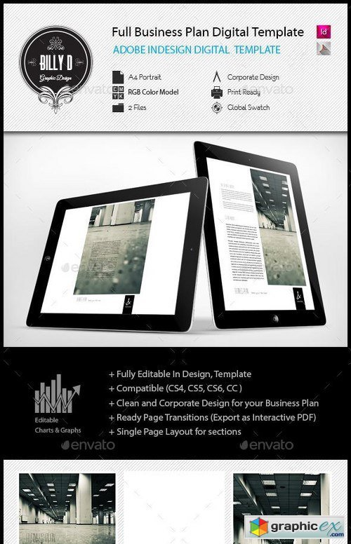 Full Business Plan Digital Template