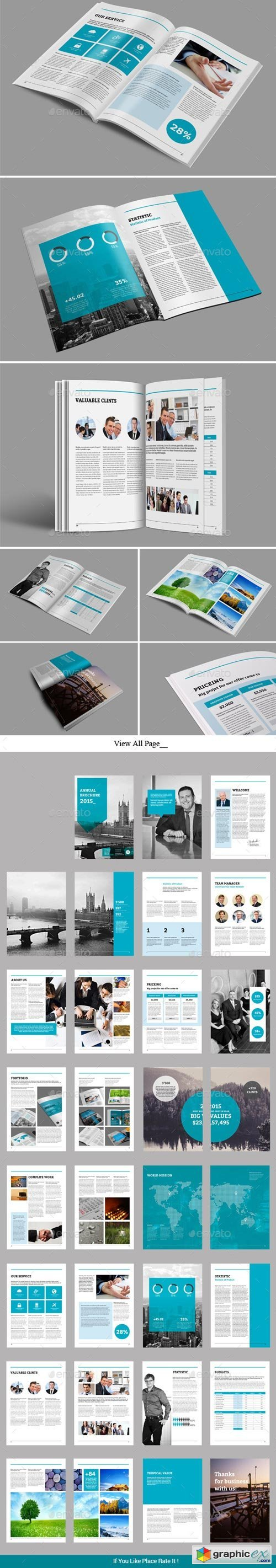 Annual Brochure Template