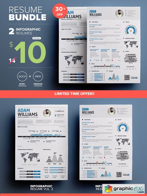 Infographic Resume - Mini Bundle