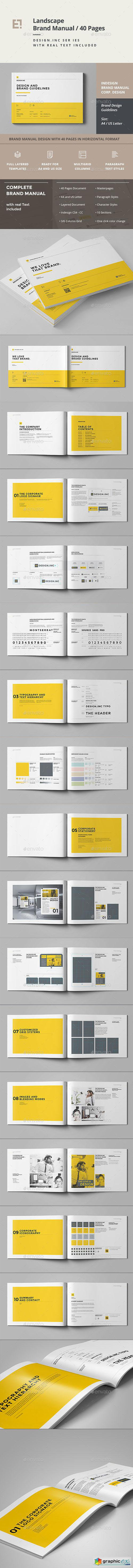 Brand Manual 40 Pages