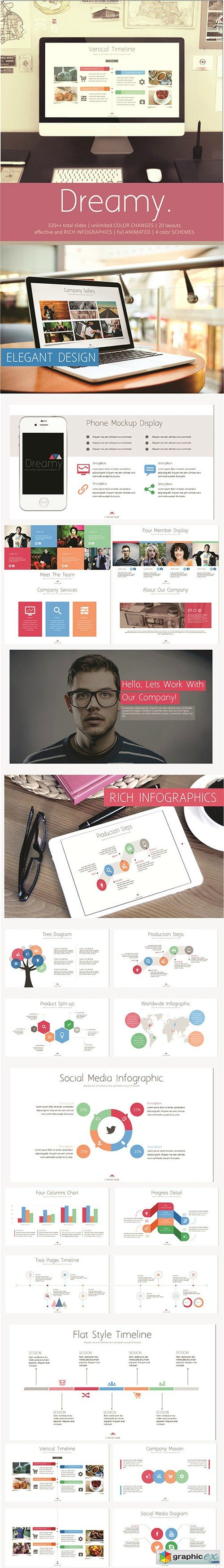 Dreamy PowerPoint Template