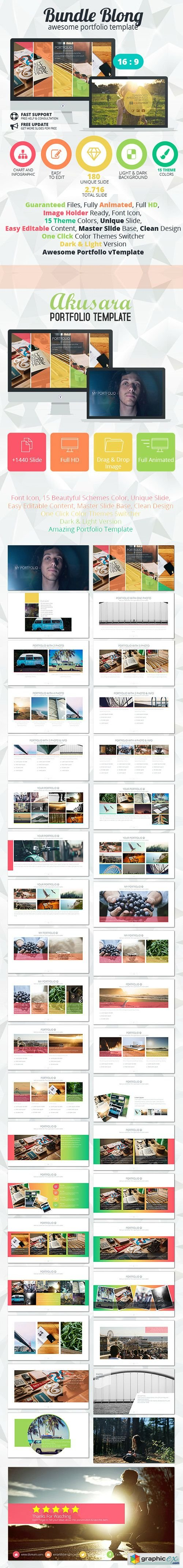 Bundle Blong - Awesome Portfolio Template