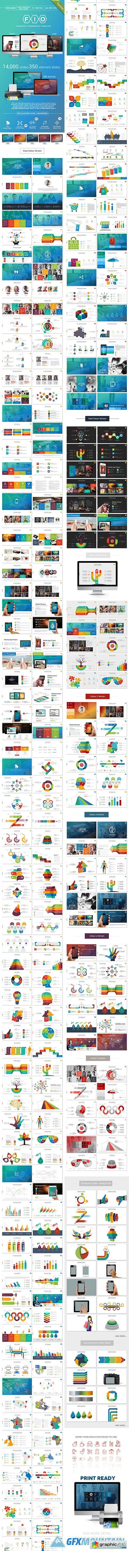 Fio - Complete Powerpoint Template - Print Ready