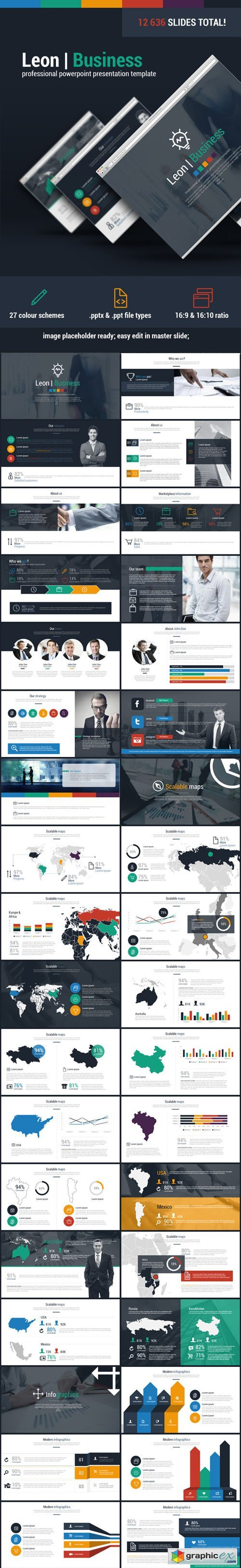 Leon Business Powerpoint Presentation Template