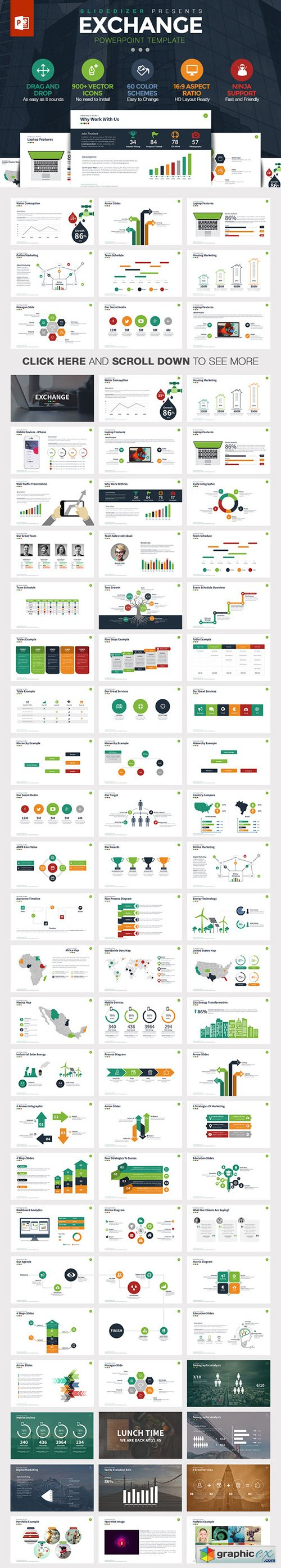 Exchange Powerpoint Template
