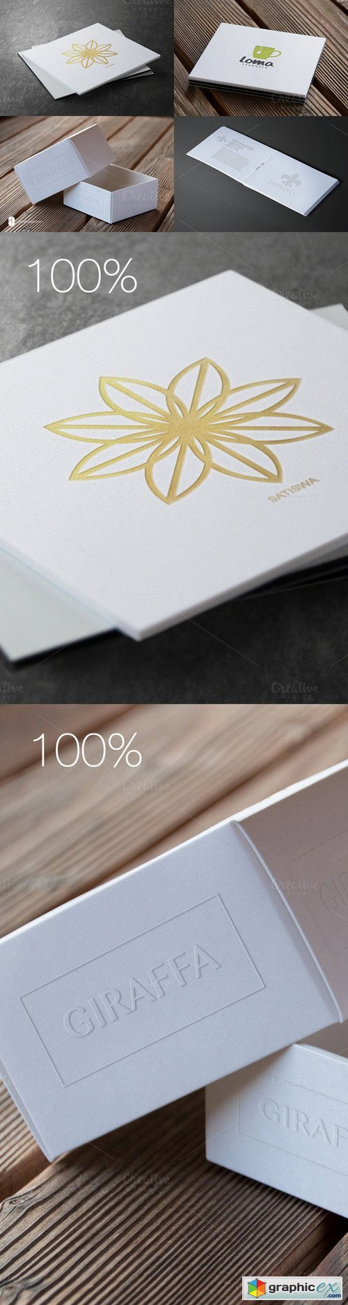 Authentic Logo Mockups V1 - 50% OFF