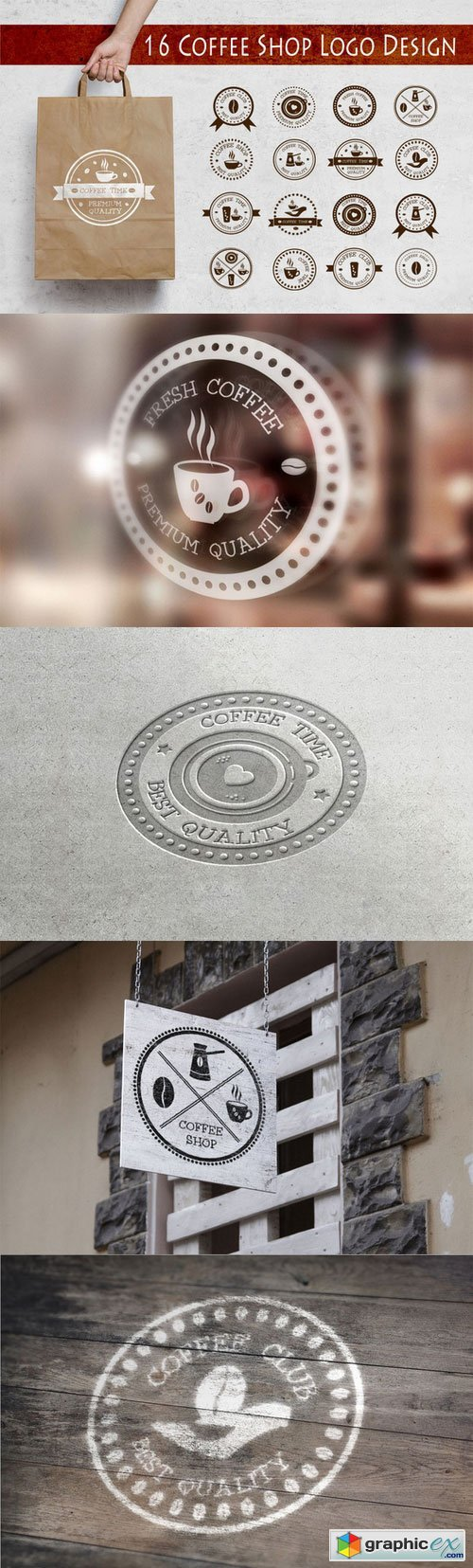 16 Coffee Shop Logo Design