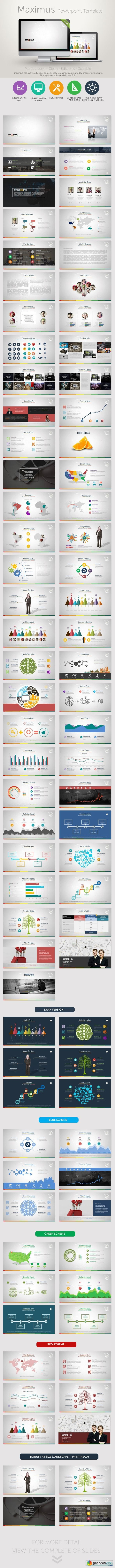 Maximus PowerPoint Presentation Template