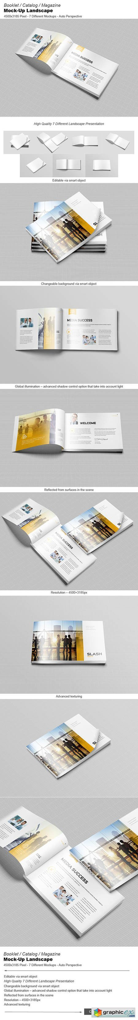 Booklet / Catalog / Mock-Ups 348924