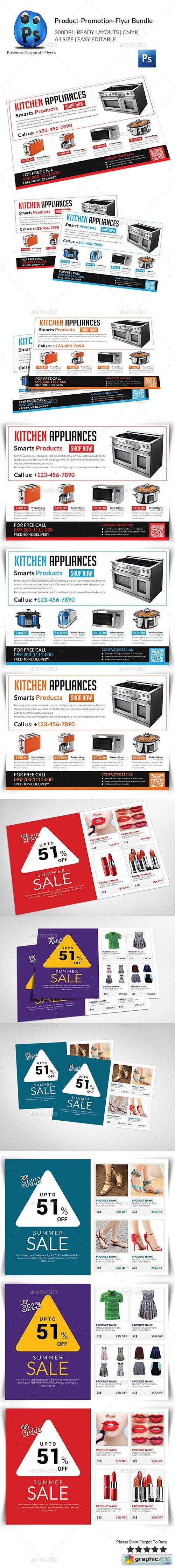 Product Promotion Flyer Bundle 11553930