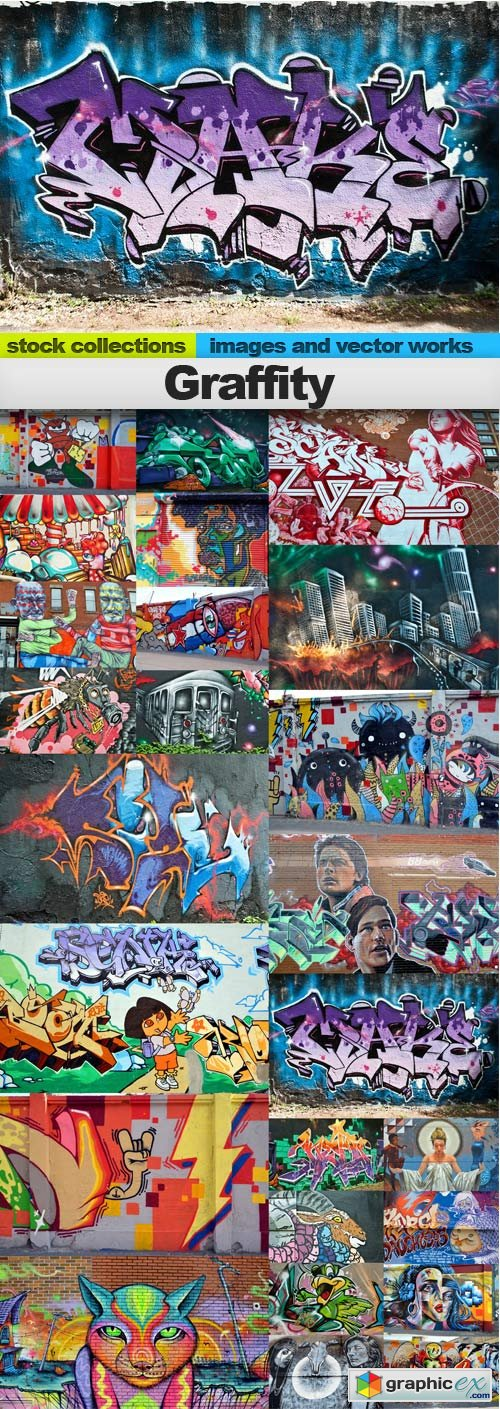 Graffity,25 x UHQ JPEG