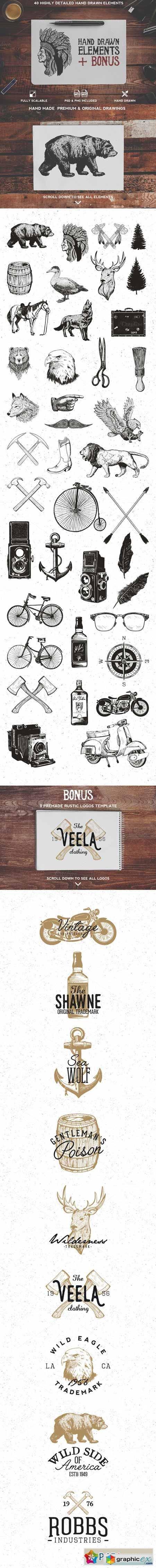 40 Rustic Design Elements + Bonus