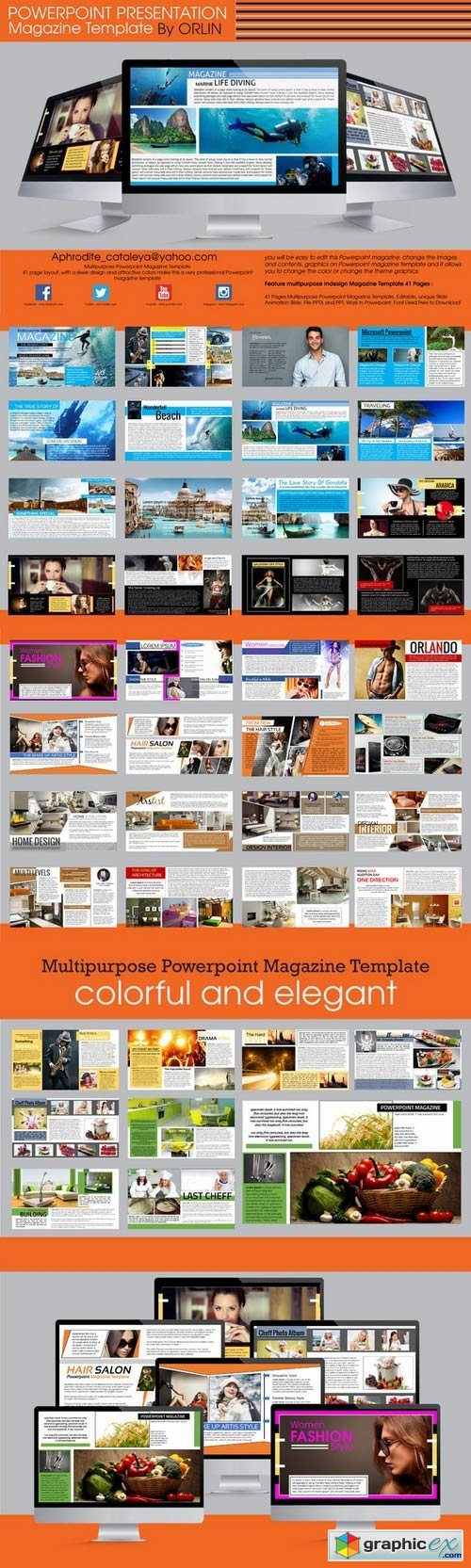 Powerpoint magazine template 360601 free download vector stock powerpoint magazine template 360601 alramifo Gallery