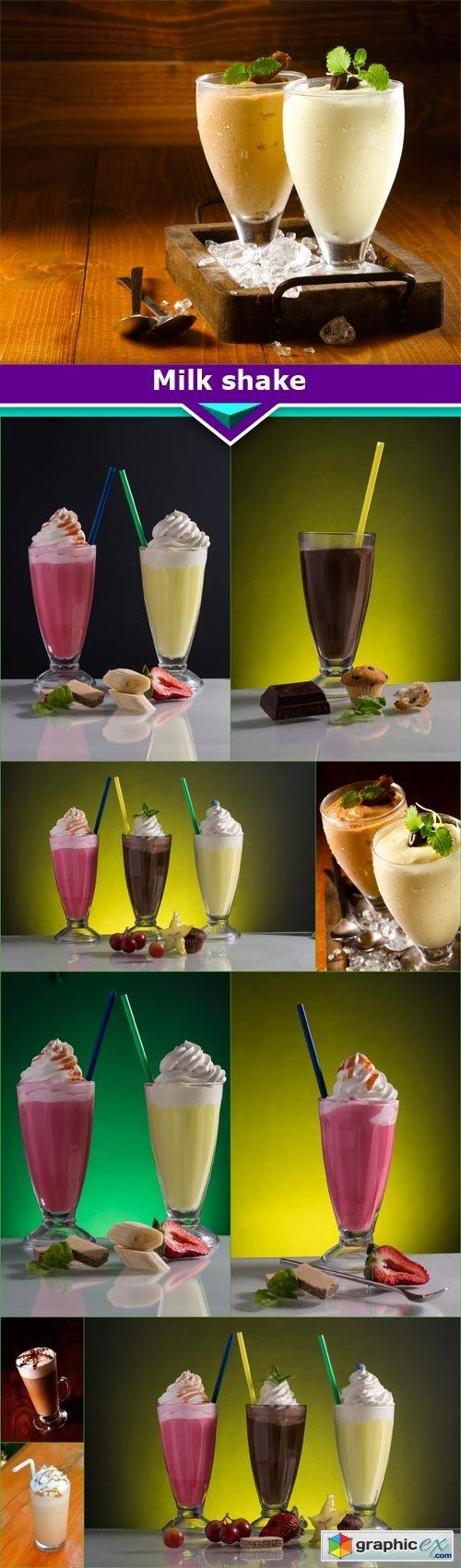 Milk shake 10x JPEG » Free Download Vector Stock Image