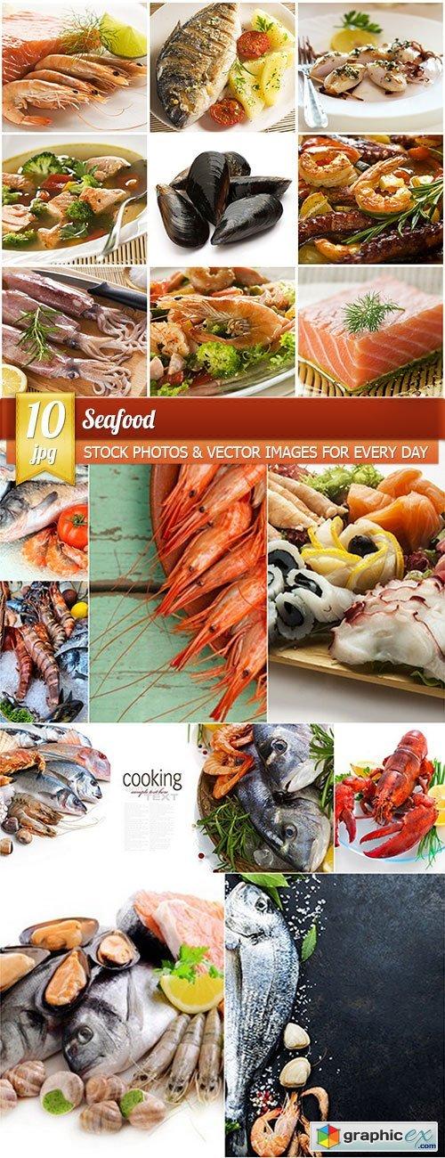 Seafood, 10 x UHQ JPEG