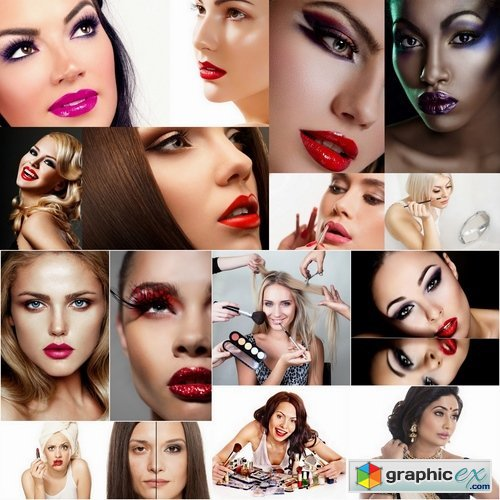 Beautiful womans with amazing makeup - 25 HQ Jpg