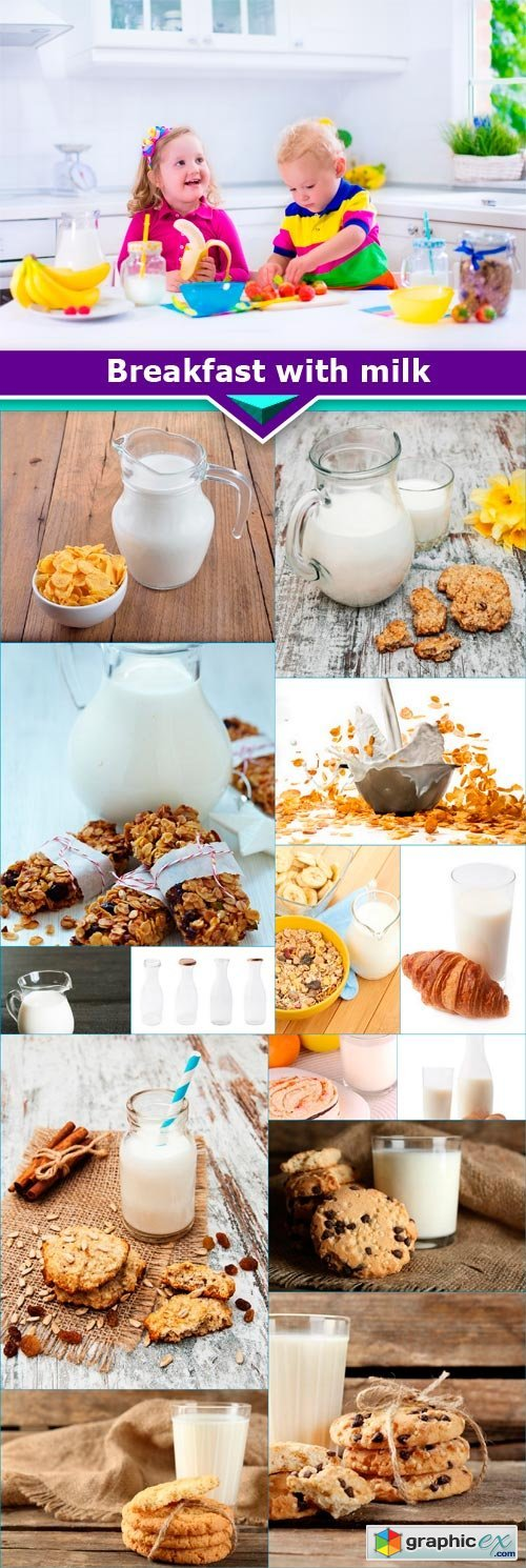 Breakfast with milk15x JPEG