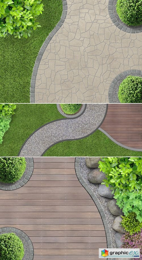 Stock Photo - Garden Design