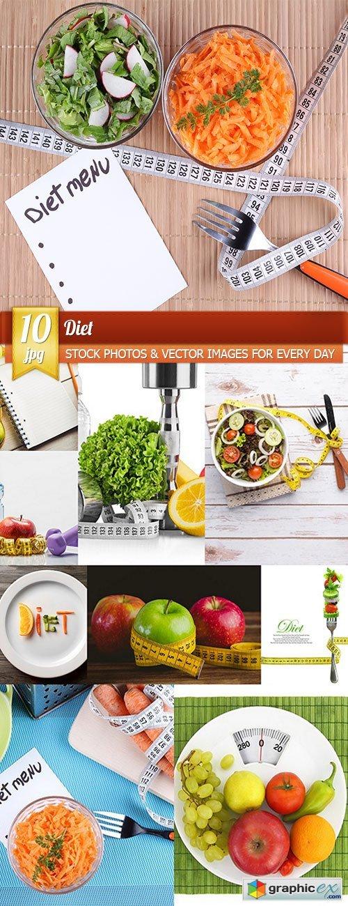 Diet, 10 x UHQ JPEG