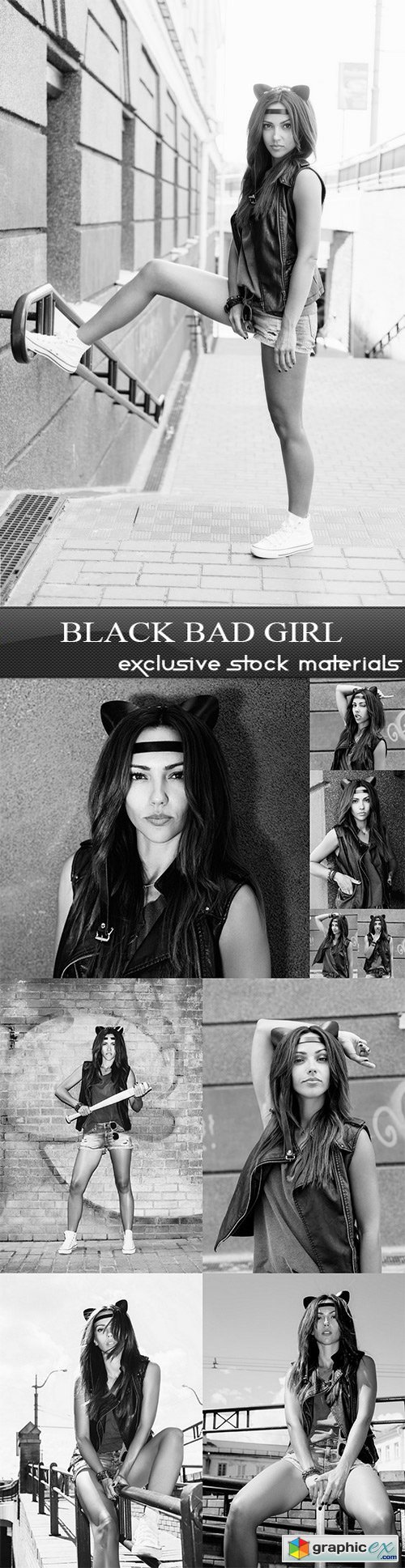 Black Bad Girl - 10 UHQ JPEG