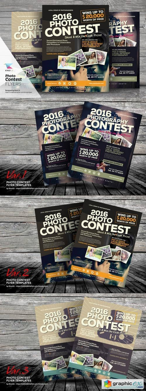 Photo Contest Flyer Templates