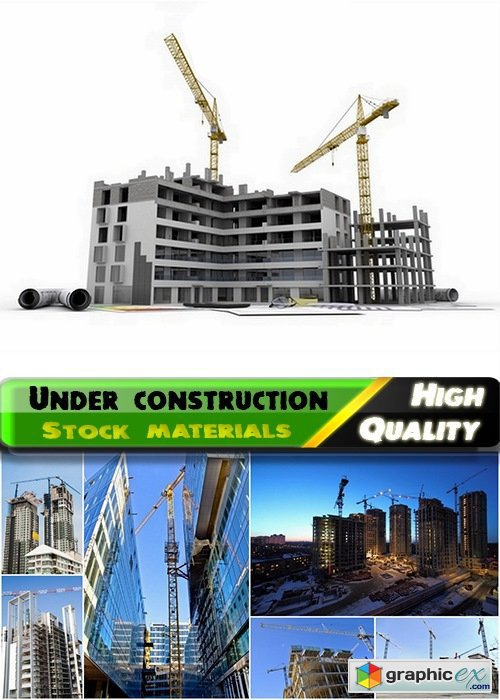 Buildings under construction and unfinished houses - 25 HQ Jpg