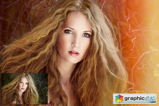 SUMMERANA Colorosity Lights � Photoshop Action Collection