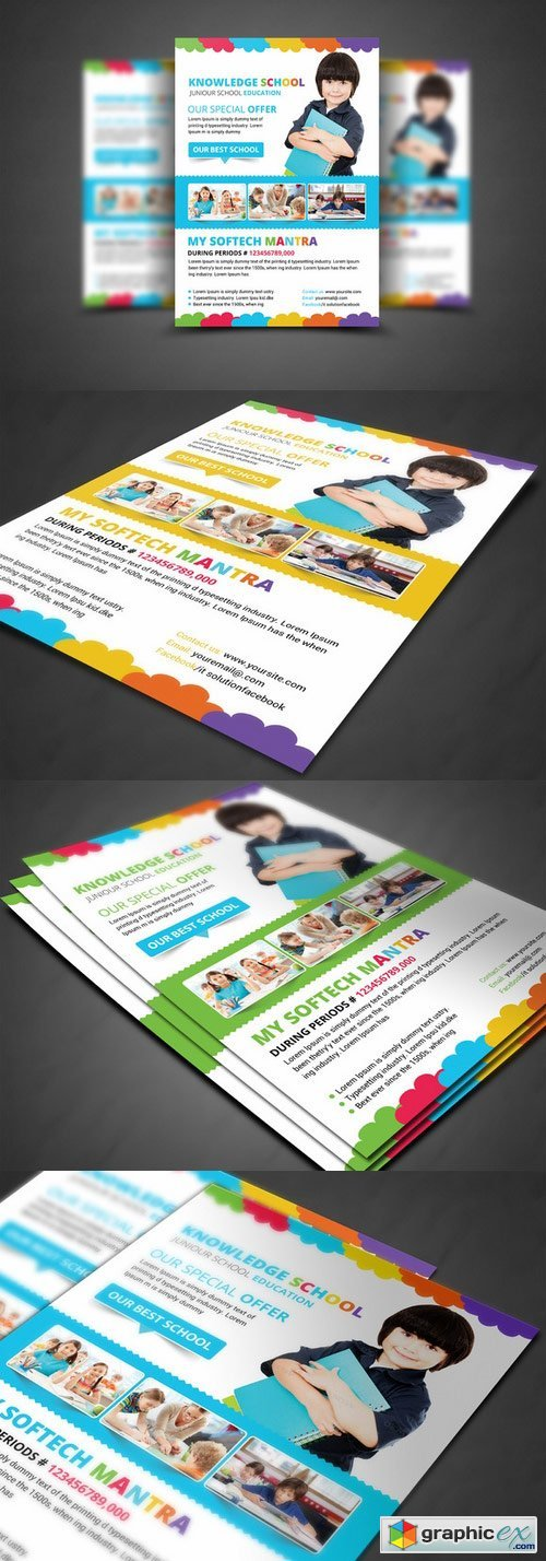 Junior School Education Flyer 289205