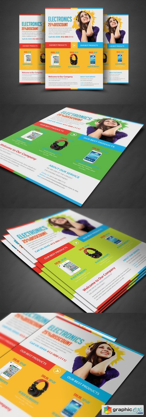 Product Flyer Print Templates 297847