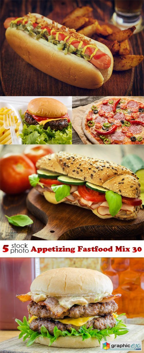 Photos - Appetizing Fastfood Mix 30