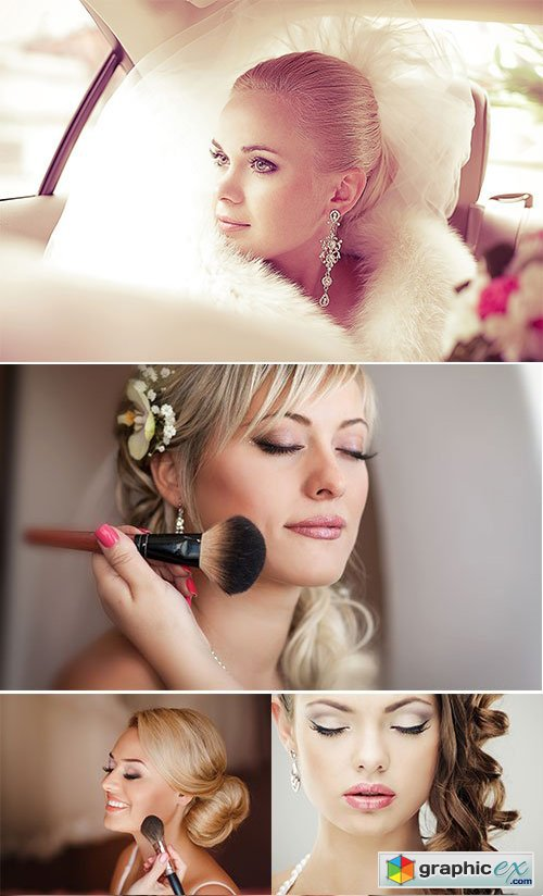 Stock Image Wedding makeup