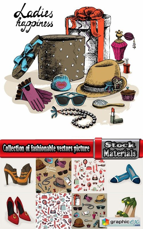 �ollection of fashionable vectors picture 25 Eps