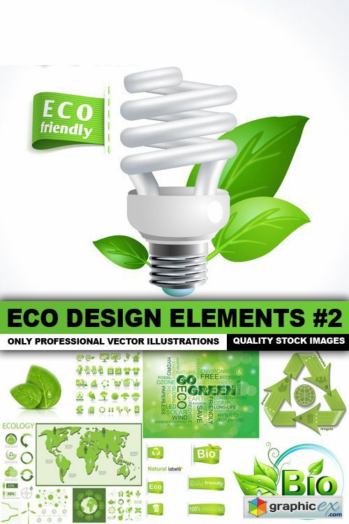 ECO Design Elements #2 - 25 Vector