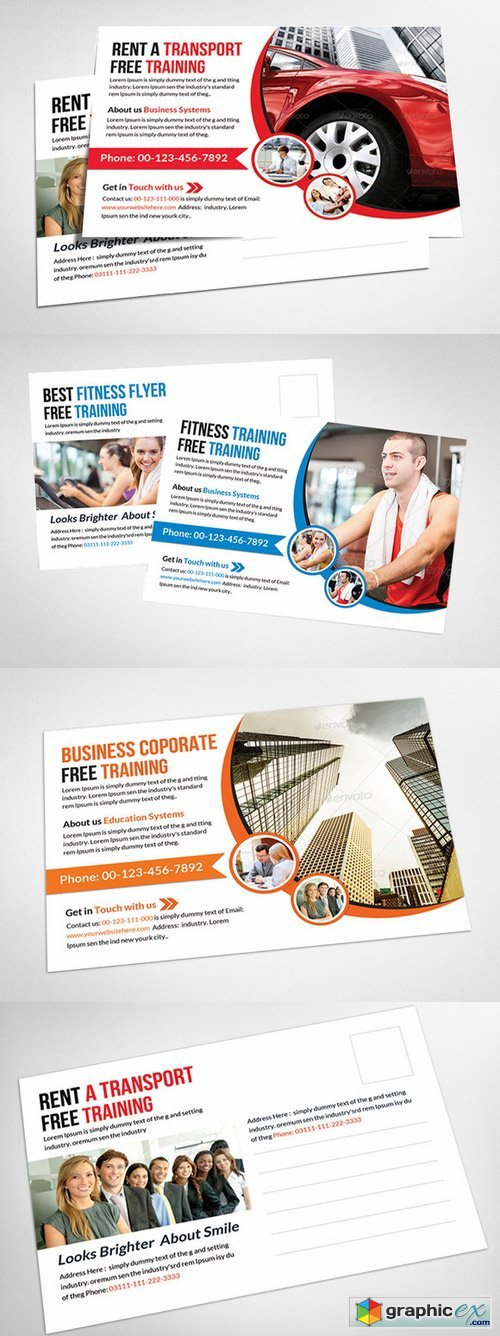 Multi Use Business Postcard 336602