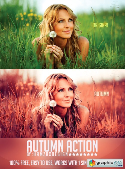 Autumn Photoshop Action