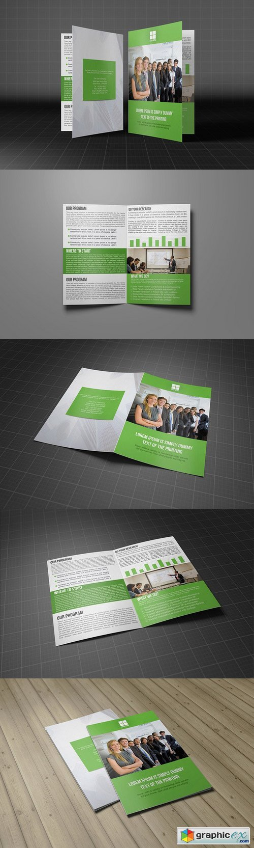 Brochure Bifold Template 277353