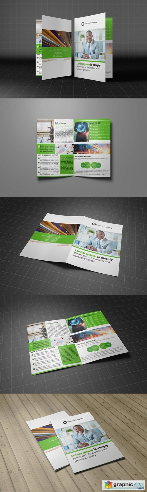 Bifold Brochure Template Vol 03 285119