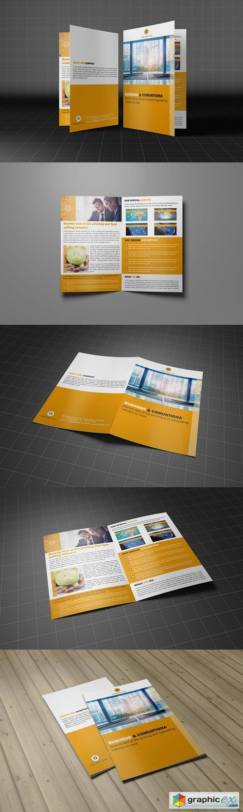 Creative Bifold Business Brochure 275023