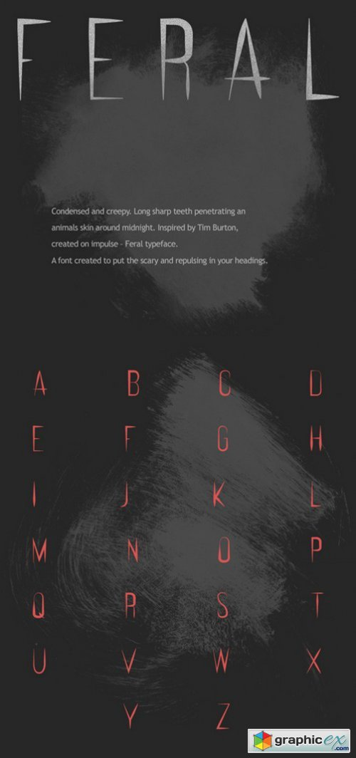 FERAL Typeface