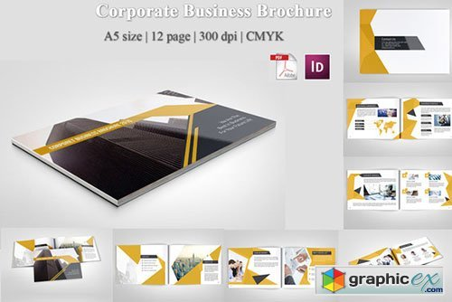 Corporate Business Brochure 349653