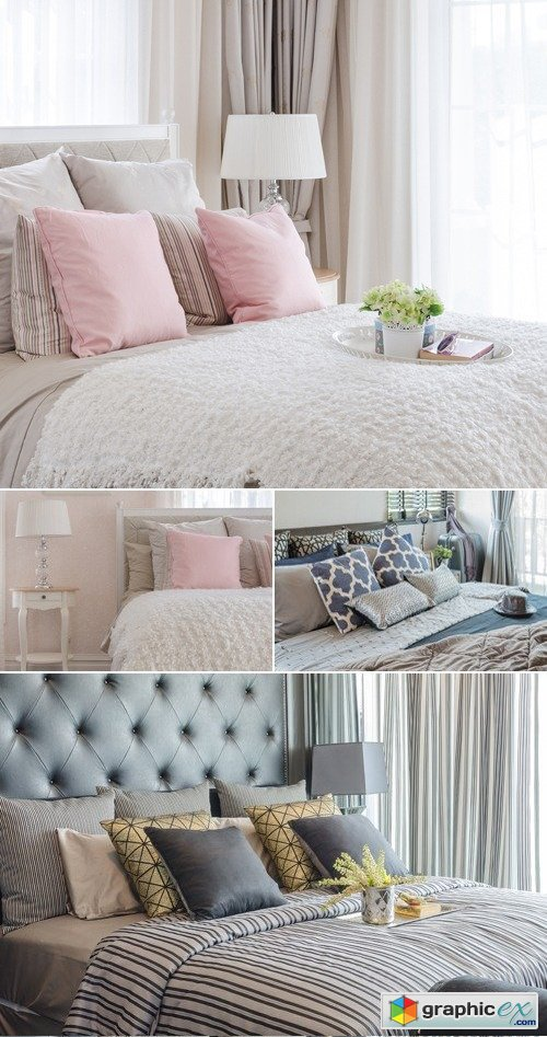 Stock Photo - Bedroom Interior